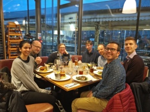 Dinner with Dr Bhavna Sharma and other Academics from The University of Bath