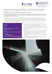 Flyer - CPD External Fire Spread Risk for Tall Building Design - 4th Edition_Page_1